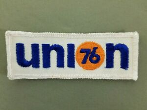 Union 76 Gas Embroidered Iron On Patch