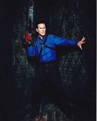 Television Hot Sale Bruce Campbell Signed Ash Vs Evil Dead Photo W/ Hologram Coa Autographs-original
