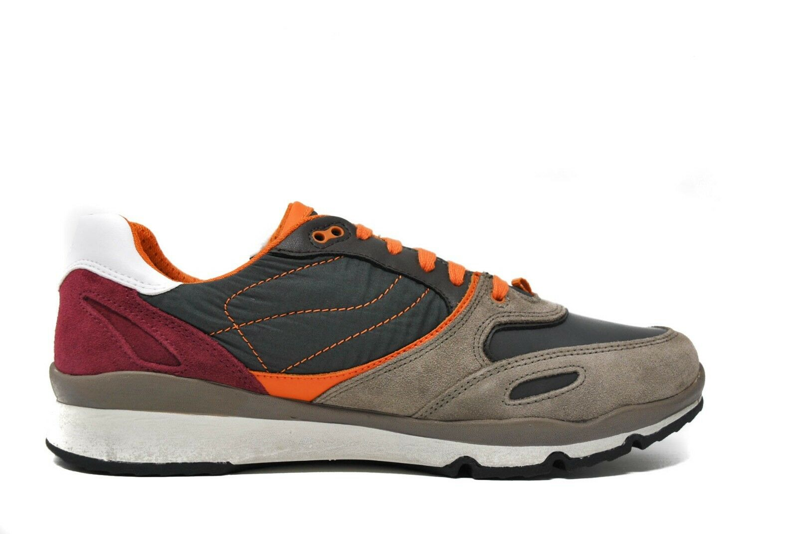 GEOX Men's Stone, U Sandford U44S7A in Stone, Men's Gray Sz 6-12 NEW - Retail: $139.99 203f76