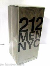 Carolina Herrera 212 6.7oz 200ml Men Eau de Toilette 100% Original & Sealed Box