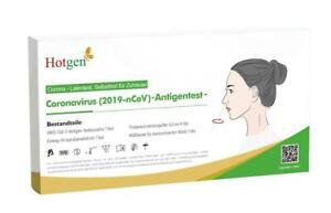 10 x Hotgen Corona Covid19 Schnelltest Laien Test Antigen BfArM Nasal 2,99 € St.