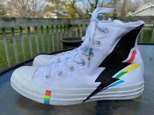 Converse Pride High Top Lightning White