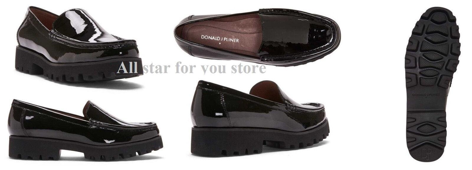 spedizione gratuita! Donald J J J Pliner scarpe Rio Patent Leather Loafer 6.5, 9.5  la migliore offerta del negozio online