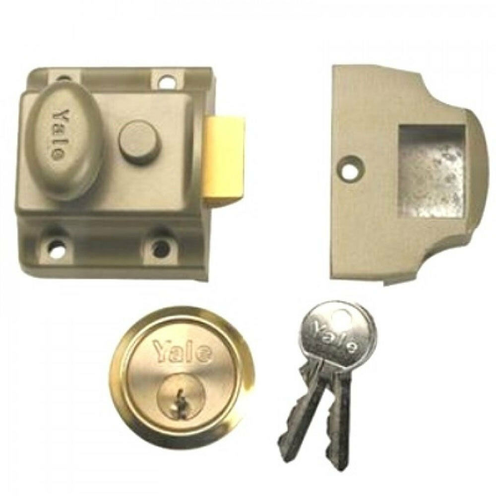 Yale 723 Cilindro deadlatch Nightlatch pb (B-723-ENB-PB-40)