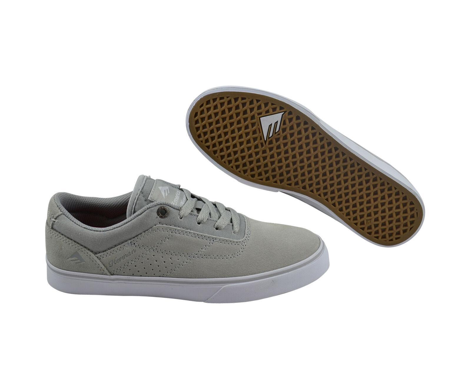 Emerica The Herman grau G6 Vulc light Grau Skater Turnschuhe/Schuhe grau Herman b6c5a5