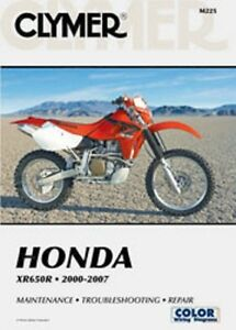 Details about Clymer Repair Service Shop Manual Vintage Honda XR650 on