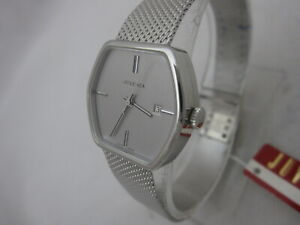NOS-NEW-SWISS-STAINLESS-STEEL-AUTOMATIC-WOMEN-039-S-JUVENIA-WATCH-1960-039-S-WITH-DATE