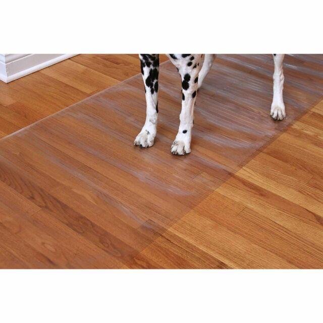 Clear Vinyl Plastic Floor Runner Carpet