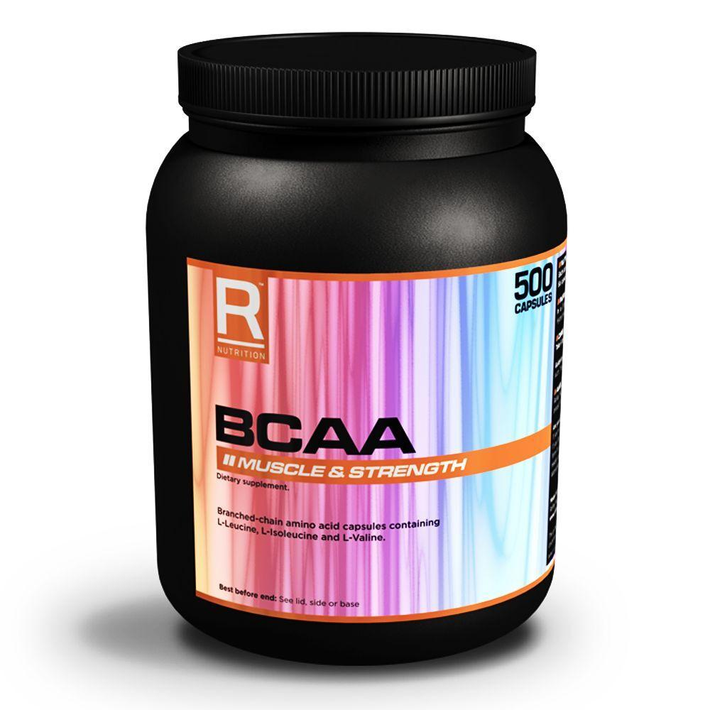 Reflex Nutrition Bcaa 500 Kapseln - Verzweigtkettige Aminosäuren - R Nutrition