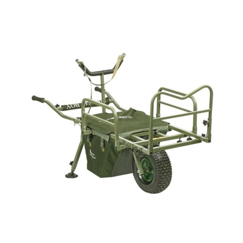 Prestige Carp Porter Fatboy Fishing Barrow with Cover Keep your Tackle Dry