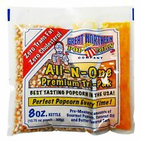 Great Northern Un-popped Popcorn 8 Oz 40-count