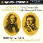 Beethoven: Violin Concerto in D; Mendelssohn: Violin Concerto in E minor (CD, Jun-1999, RCA)