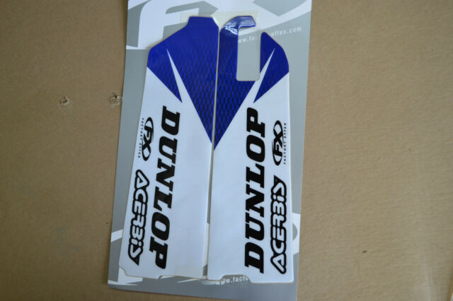 Acerbis Fork Guards Covers Plastic Black Yamaha YZ250 YZ125 96-04 YZ400F YZ426F