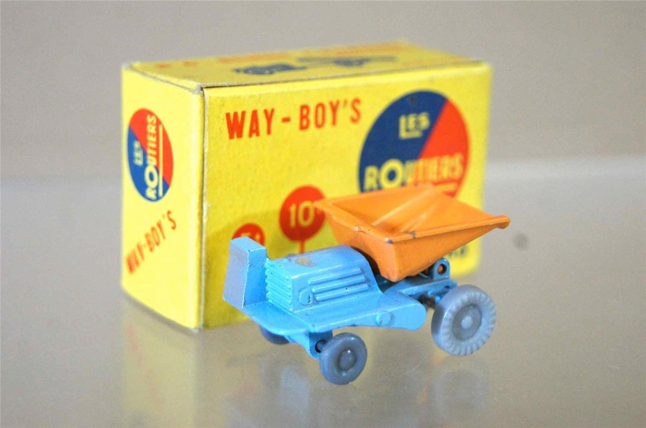 Way-Boys les Routiers No 6 Nain Jouets Co Benne Carriere Bleu Type 3 MIB Ozc