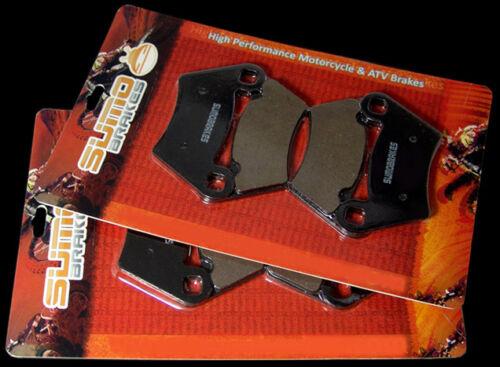 2004-2006 05 500 Series 10 6x6 XP Polaris F+R Brake Pads Ranger 6x6 /& TM