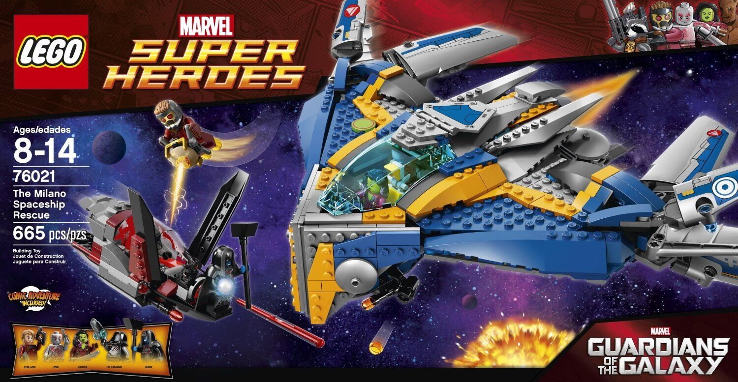 LEGO LEGO LEGO MARVEL SUPER HEROES GUARDIANS OF THE GALAXY 76021 MILANO SPACESHIP RESCUE 4e8be0