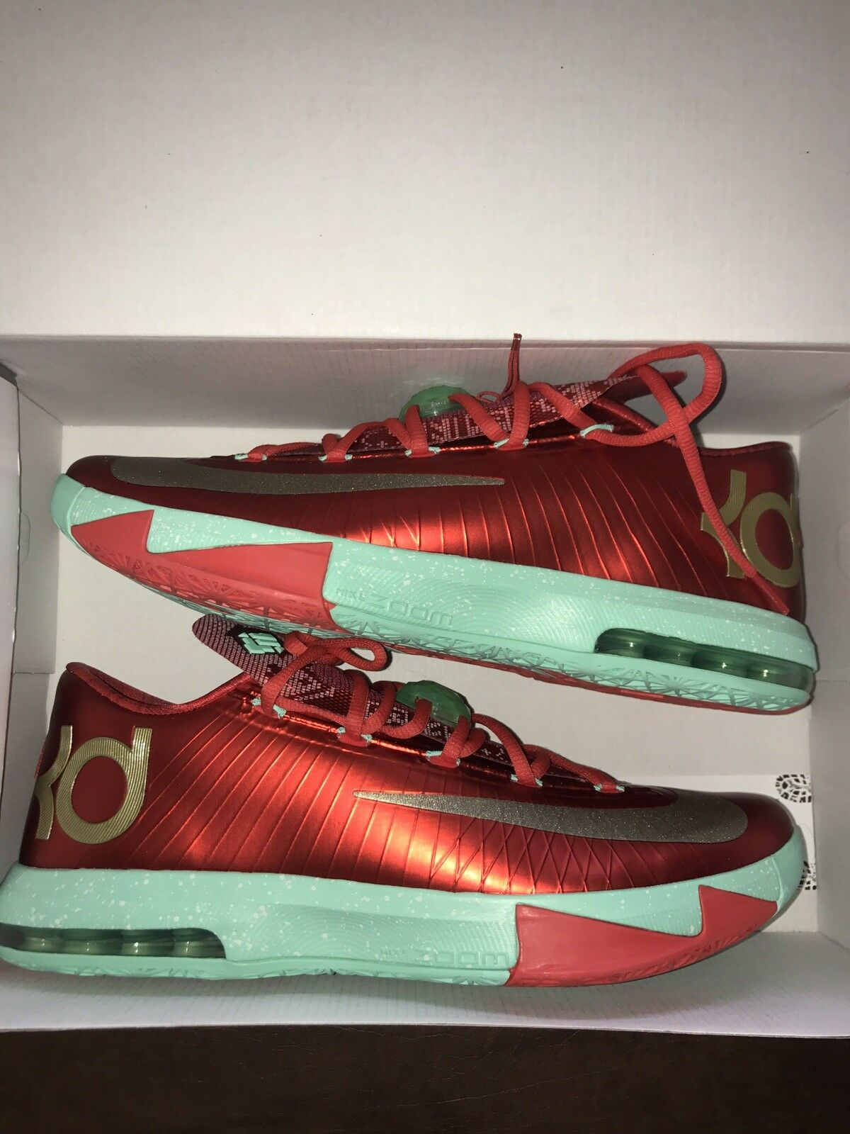 Nike KD 6 Christmas size 12