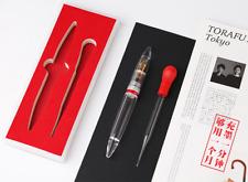 "Moonman M2 Transparent Fountain Pen,""Updated Lecai pen"",EF NIb, Gift A 1.1MM Nib"