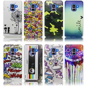 62a8223c8 Samsung Galaxy A8 2018 A8 Dual Silicone Smartphone Mobile Cover Case ...