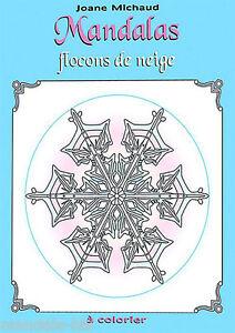 Mandalas Neve Album Da Colorare Mandala Ebay