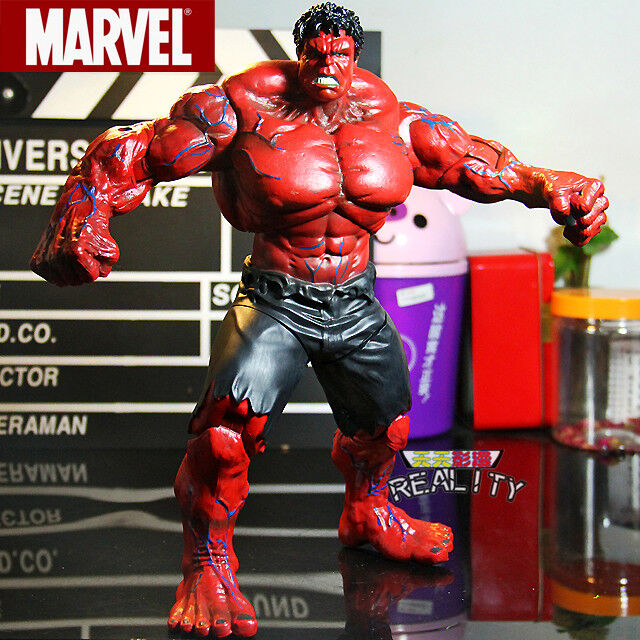 Red Hulk Action Figure The Avengers Hulk PVC Figure Collectible Toy  10  26cm