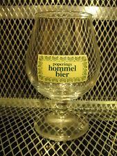 POPERINGS HOMMEL BIER ~ Belgian ~ Stemmed Tulip Snifter Beer Glass F