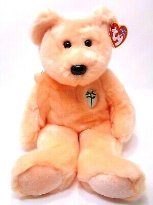 Mint w// Tag 2001 Ty Beanie Babies Poopsie the Bear PE Pellets