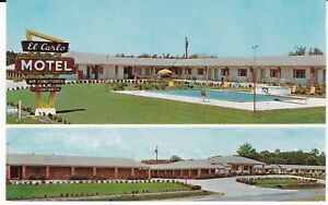 Valdosta-GA-034-The-El-Carlo-Motel-034-Postcard-Georgia