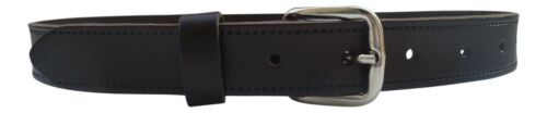 School Belt with Silver Buckle Streeze Boys Real Leather Dress