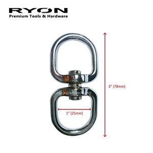 Chrome Plated Lead Chain With Swivel Snap