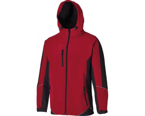 Royal /& Red Waterproof JW7010 Dickies 2 Two Tone Softshell Jacket Workwear Grey