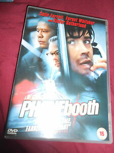 Phone Booth DVD Colin Farrel Forest Whitaker Thriller Region 2 - <span itemprop='availableAtOrFrom'>Stockport, Cheshire, United Kingdom</span> - Phone Booth DVD Colin Farrel Forest Whitaker Thriller Region 2 - Stockport, Cheshire, United Kingdom