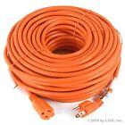Premium Outdoor Extension Cord 125 Volt Cable 100ft 16/3 Indoor Contractor New