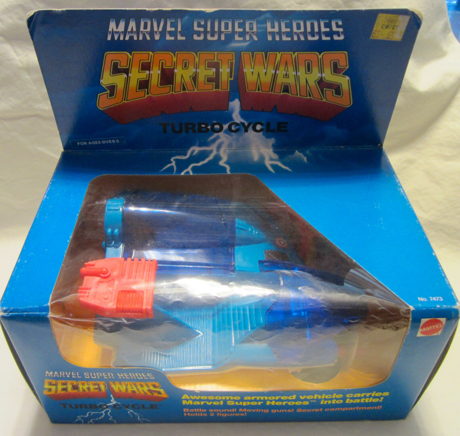 1984  Mattel Marvel Super Heroes Segreto Guerre - Turbo Cycle  varie dimensioni