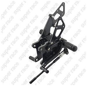 5days-offer-Black-CNC-Rearset-Foot-pegs-For-Kawasaki-Ninja-ZX10R-2008-2010