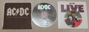 AD/DC Live from Atlantic Studios CD card sleeve - off BOX - Kraków, Polska - AD/DC Live from Atlantic Studios CD card sleeve - off BOX - Kraków, Polska