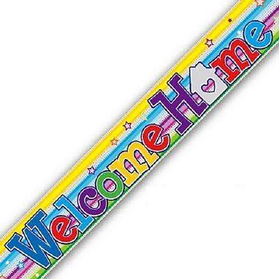 Happy Retirement Speech Bubbles Foil Banner 9ft long Repeats 3 Times 2.7m