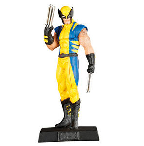 WOLVERINE-Lead-METAL-Figure-02-Marvel-EAGLEMOSS-Collection-MINT-BOX-No-Magazine