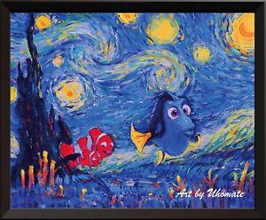 Uhomate Dory Finding Nemo Van Gogh