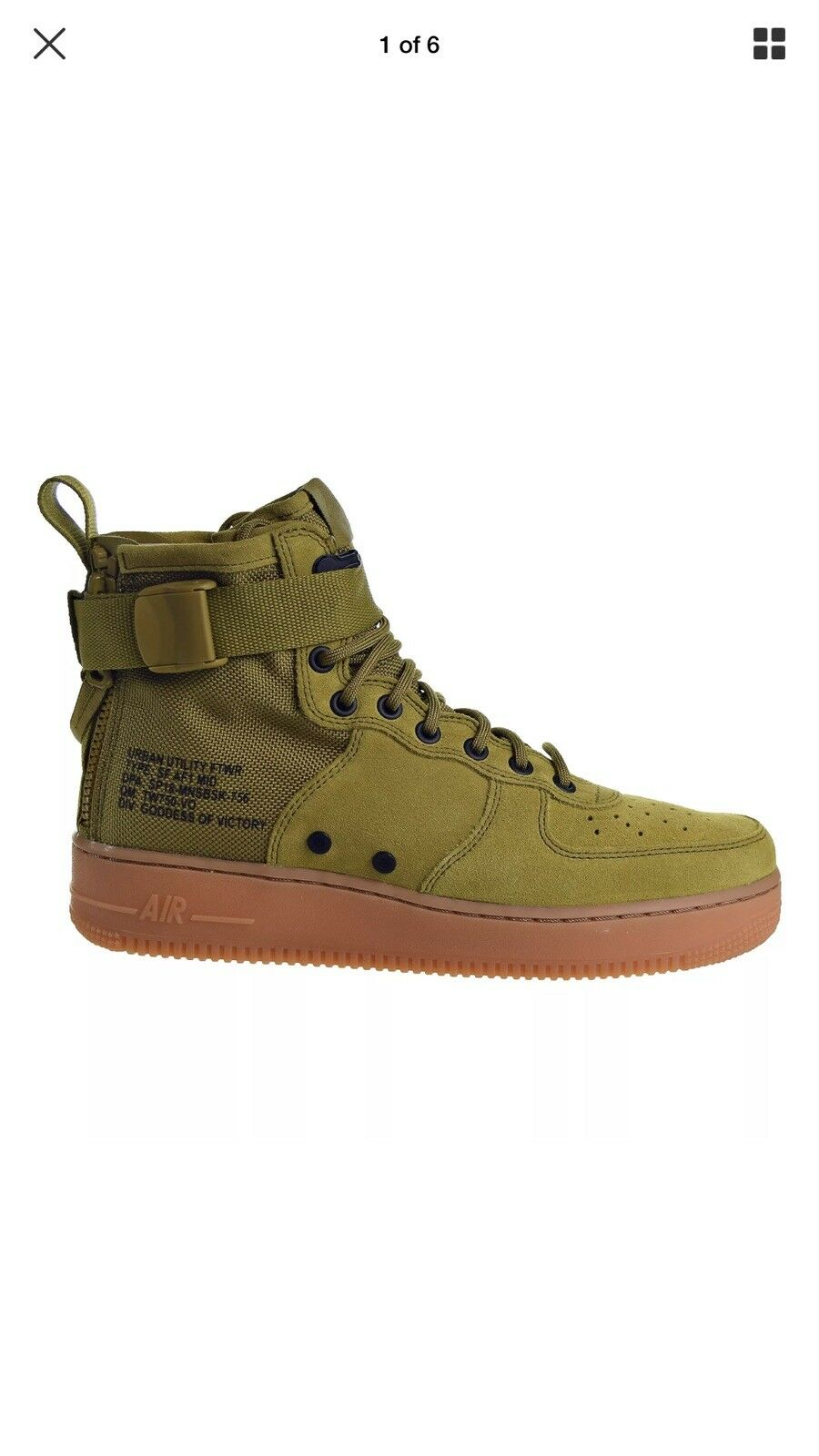 d630e660c5c Nike AIR FORCE SF1 MID SIZE 8 Retail Dead Stock- New In Box 160  nxtjxy8986-Athletic Shoes