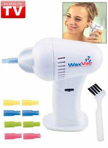 Original WaxVac Ear Cleaner Wax Remover Wax Vac As Seen On ... Ear Wax Removal As Seen On Tv