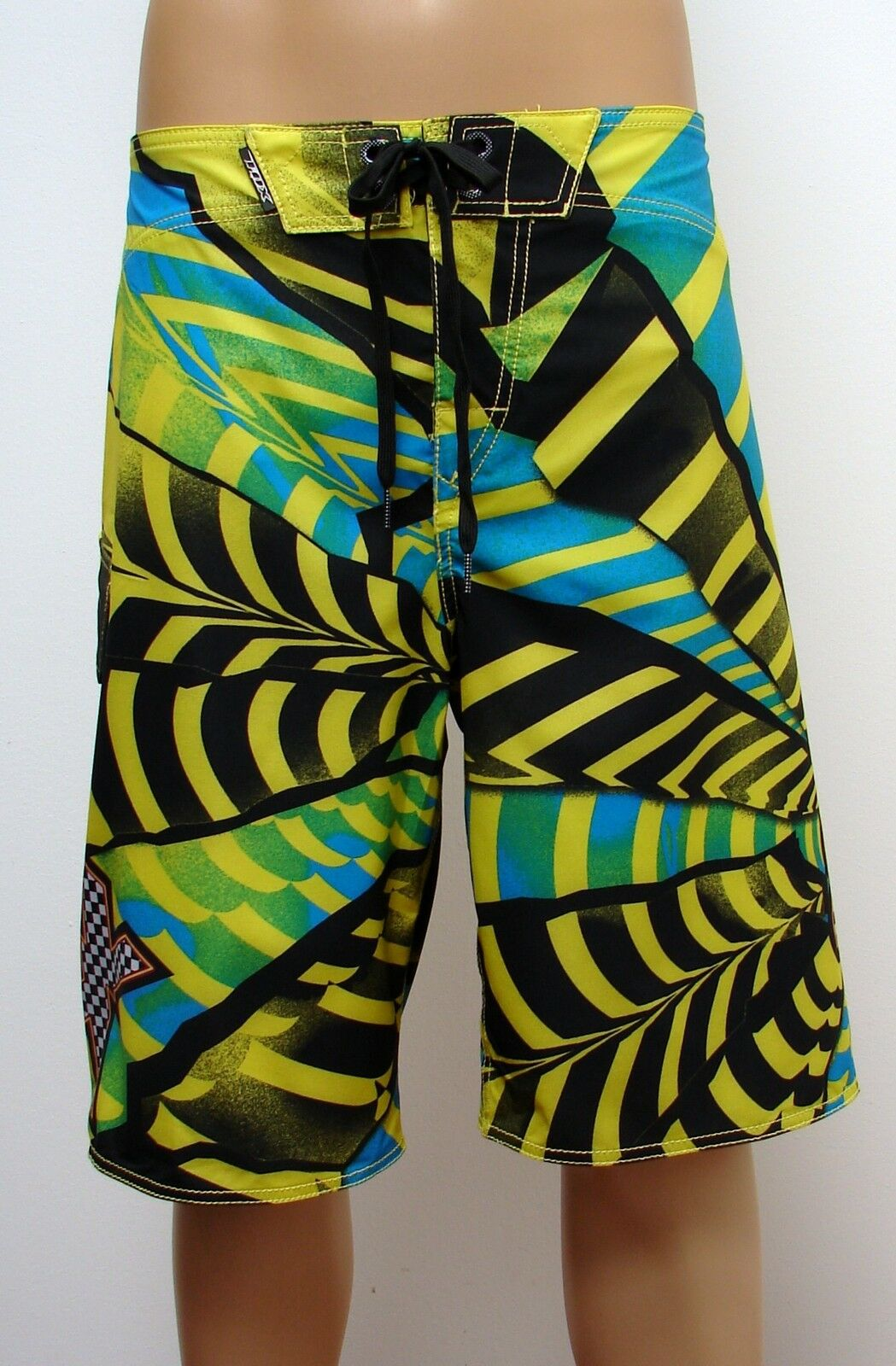 NEW FOX RACING  SHATTERED  4-Way STRETCH  BOARDSHORTS  SOLD FOR  SIZE  30
