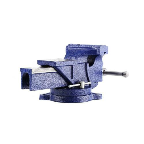 """6/"""" Work Bench Vice Vise Heavy Duty Workshop Clamp Engineer Jaw Swivel Base Table"""