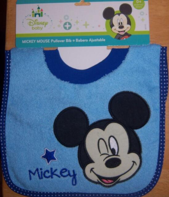 dfc55ec3c Boys Bib Sz 0 Mos Disney Baby Mickey Mouse Pull-over W/mickey for ...