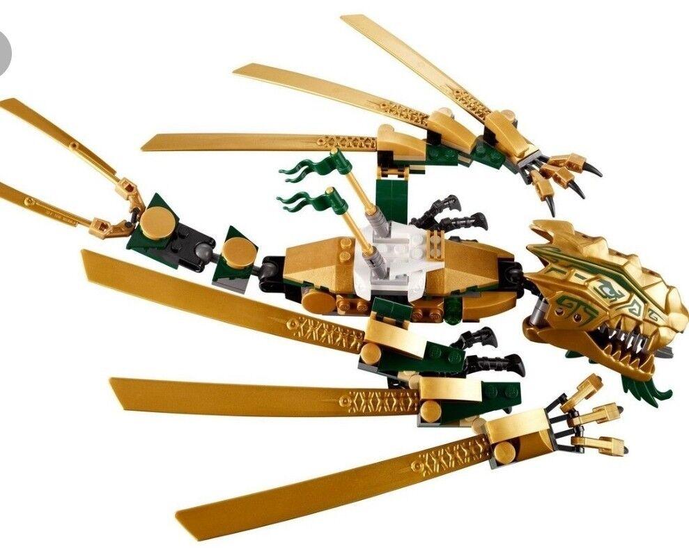 Lego golden dragon 70503 plus instruction, no box