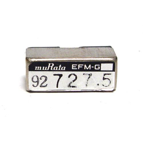 Murata Quarz-Filter / Stimmgabel-Resonator, EFM-G 727.5 Hz Tuning Fork, NOS