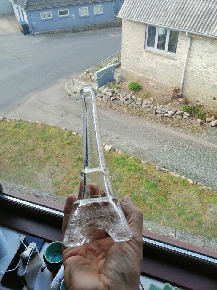Glas, Eiffeltårnet , blomstervase