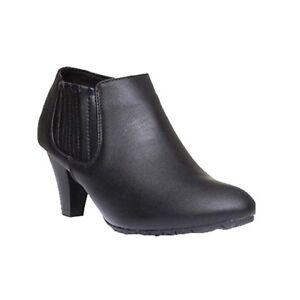 Chaussures Plus École Comfort 8 Travail de travail Femmes 3 noir décontractées Iona britannique qApxWwt