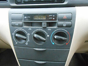 Image Is Loading 2004 Toyota Corolla Zze122 Digital Clock S N V7077