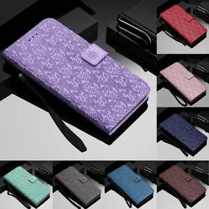Pour-Huawei-P30-P20-P-Z-intelligente-Magnetique-Flip-Stand-Carte-Portefeuille-etui-en-Cuir